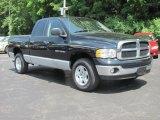 2005 Black Dodge Ram 1500 SLT Quad Cab 4x4 #32025664