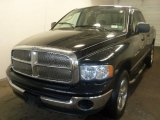 2004 Black Dodge Ram 1500 SLT Quad Cab 4x4 #32025304