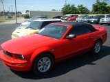 2006 Torch Red Ford Mustang V6 Premium Convertible #32025555