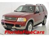 2003 Redfire Metallic Ford Explorer Eddie Bauer #32054166