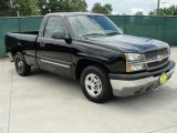 2004 Black Chevrolet Silverado 1500 Regular Cab #32054316