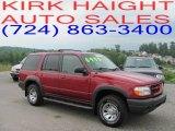 2000 Toreador Red Metallic Ford Explorer XLS 4x4 #32054182