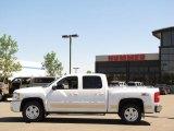 2009 Summit White Chevrolet Silverado 1500 LTZ Crew Cab 4x4 #32054533
