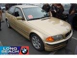 2000 Light Yellow Metallic BMW 3 Series 323i Sedan #32054340