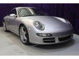 2007 Arctic Silver Metallic Porsche 911 Carrera S Coupe #32054345