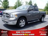 2010 Mineral Gray Metallic Dodge Ram 1500 Big Horn Quad Cab 4x4 #32054230
