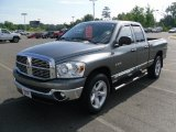 2008 Mineral Gray Metallic Dodge Ram 1500 Big Horn Edition Quad Cab #32054581