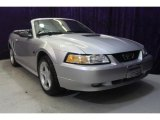 2000 Silver Metallic Ford Mustang GT Convertible #32054349