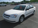 2005 White Chevrolet Malibu Sedan #32054582