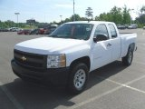 2008 Summit White Chevrolet Silverado 1500 Work Truck Extended Cab #32054583