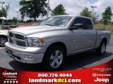 2010 Light Graystone Pearl Dodge Ram 1500 Big Horn Quad Cab #32054237
