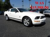 2007 Performance White Ford Mustang V6 Premium Coupe #32054249