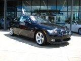 2008 Jet Black BMW 3 Series 328i Coupe #32054262