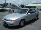 2001 Bright Silver Saturn L Series LW300 Wagon #32054151