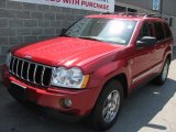 2006 Inferno Red Crystal Pearl Jeep Grand Cherokee Limited 4x4 #32054681