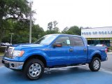2010 Blue Flame Metallic Ford F150 XLT SuperCrew 4x4 #32098430
