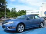 2010 Sport Blue Metallic Ford Fusion Sport #32098433