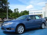 2010 Sport Blue Metallic Ford Fusion SE #32098435