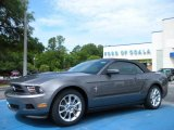 2011 Sterling Gray Metallic Ford Mustang V6 Premium Convertible #32098436