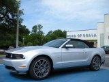 2011 Ingot Silver Metallic Ford Mustang GT Premium Convertible #32098439