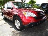 2008 Tango Red Pearl Honda CR-V LX #32098253