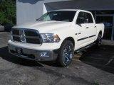 2010 Stone White Dodge Ram 1500 Big Horn Crew Cab 4x4 #32098853