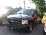 2010 Black Chevrolet Silverado 1500 Regular Cab #32098857