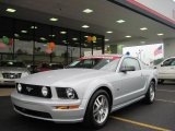 2005 Satin Silver Metallic Ford Mustang GT Premium Coupe #32098671