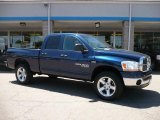 2006 Patriot Blue Pearl Dodge Ram 1500 Big Horn Edition Quad Cab 4x4 #32098473