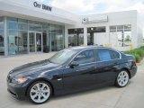2007 Monaco Blue Metallic BMW 3 Series 335i Sedan #32098687
