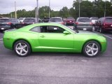 2010 Synergy Green Metallic Chevrolet Camaro LT Coupe Synergy Special Edition #32098696