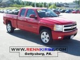 2007 Victory Red Chevrolet Silverado 1500 LTZ Extended Cab 4x4 #32098734