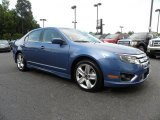 2010 Sport Blue Metallic Ford Fusion Sport #32098503