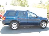 2002 Patriot Blue Pearlcoat Jeep Grand Cherokee Limited 4x4 #32098954