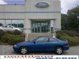 2003 Arrival Blue Metallic Chevrolet Cavalier Coupe #32098337
