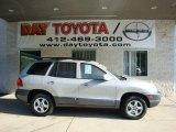2004 Pewter Hyundai Santa Fe LX 4WD #32098370