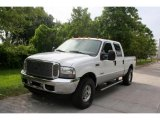2004 Oxford White Ford F250 Super Duty Lariat Crew Cab 4x4 #32098561
