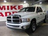 2004 Bright White Dodge Ram 1500 SLT Quad Cab 4x4 #32098569