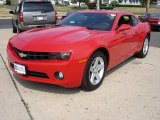 2010 Victory Red Chevrolet Camaro LT Coupe #32151026