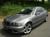 2004 Silver Grey Metallic BMW 3 Series 325i Coupe #32151154