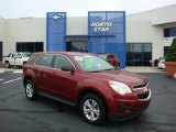 2010 Cardinal Red Metallic Chevrolet Equinox LS #32151073