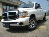 2006 Bright White Dodge Ram 1500 SLT Quad Cab #32150972