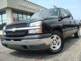 2005 Black Chevrolet Silverado 1500 LS Crew Cab #32150973