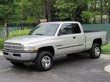 2001 Bright Silver Metallic Dodge Ram 1500 SLT Club Cab 4x4 #32150997