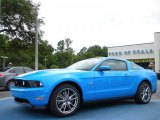 2011 Grabber Blue Ford Mustang GT Premium Coupe #32150998