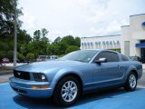 2007 Windveil Blue Metallic Ford Mustang V6 Deluxe Coupe #32151004