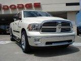 2010 Stone White Dodge Ram 1500 Big Horn Quad Cab 4x4 #32151265