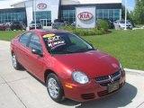 2003 Blaze Red Crystal Pearl Dodge Neon SXT #32151304