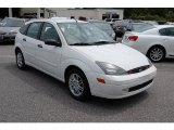 2003 Cloud 9 White Ford Focus ZX5 Hatchback #32178089