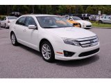 2010 White Platinum Tri-coat Metallic Ford Fusion SEL V6 #32178094